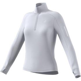 adidas Warm 1/2 Cremallera Camiseta Mujer, gris